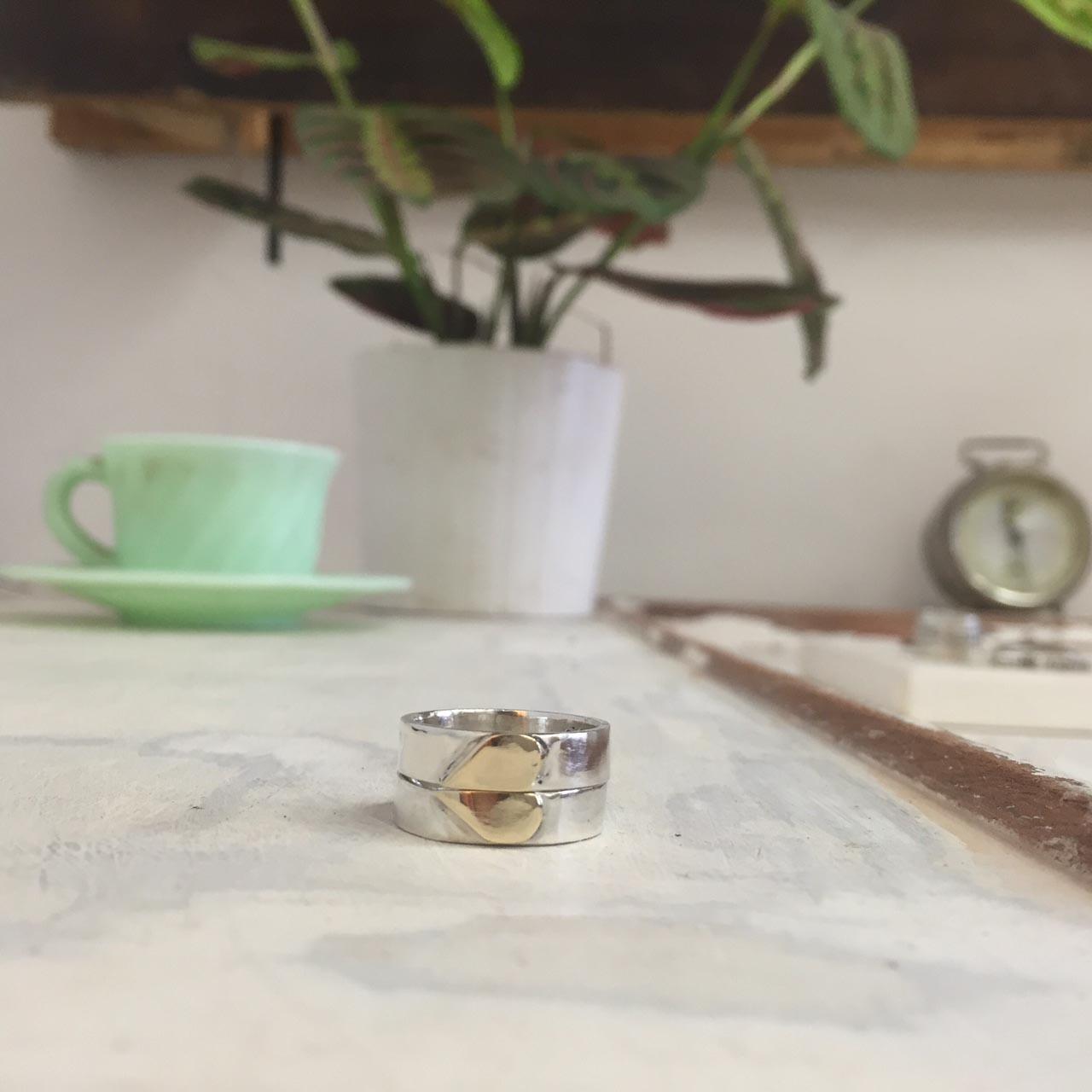 anello-cuore-oro-argento-fede