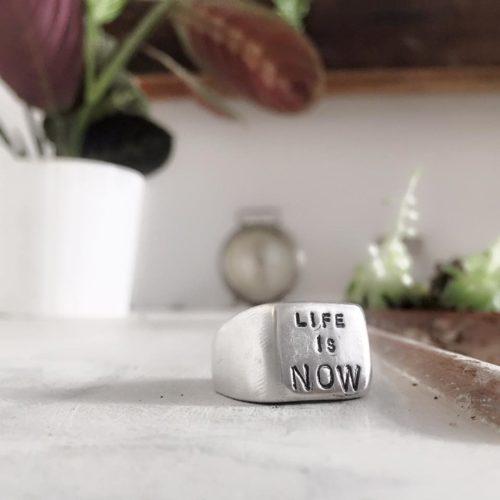 anello-sigillo personalizzato