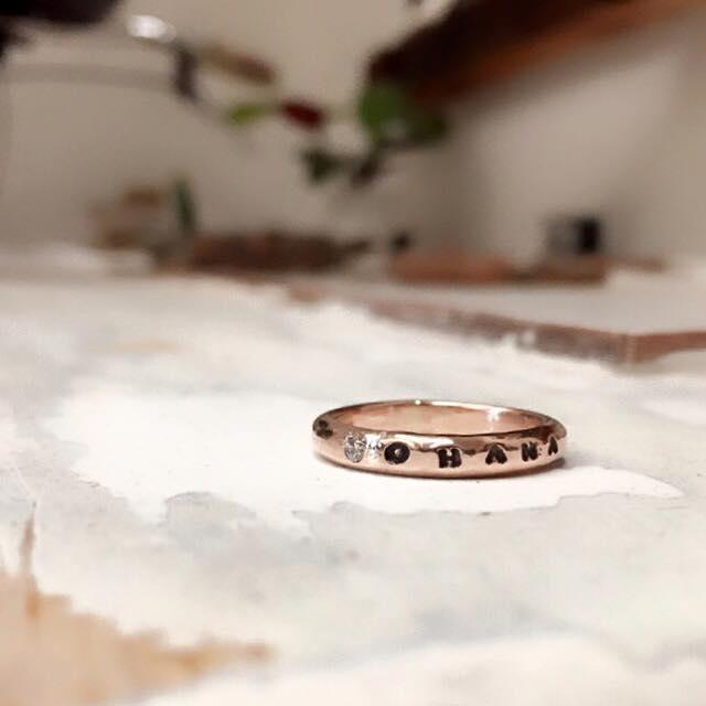 anello_punto-luce personalizzato oro