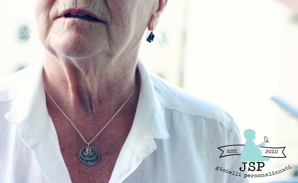 collana argento trinita