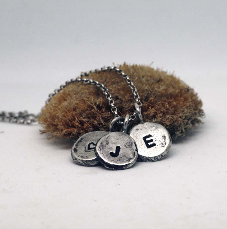 collana-iniziali-cuore-argento