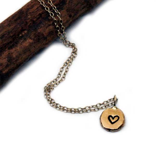collana con pepita personalizzabile in oro