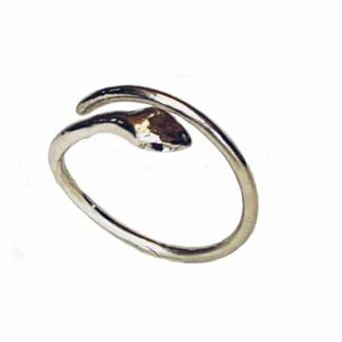 anello serpente oro